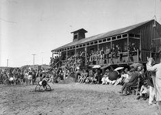 PAEKAKARIKI beach - 1920s - shows a crowd at the surf club .. OWR 18 Jan 2015
