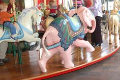 Carousel Animals | Andy Fox's: Carousel Animals - Paradise Valley Mall Carousel