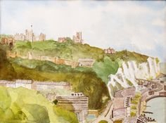 An Original Painting of Dover Kent showing by JulianLovegroveArt, £60.00