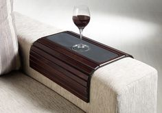SoffittaUSA Couchmaid Table Top Sofa Tray/ Lap Desk. There's also one with a pocket for remote, etc.