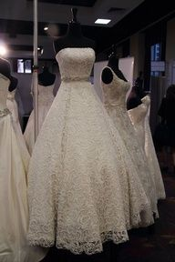 Justin Christopher Fall 2013 Wedding Dress (Photo by Levi Wilson) Love this #lace wedding dress www.finditforweddings.com