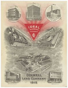 Colwell Lead Company (New York, New York) 1912 by peacay, via Flickr