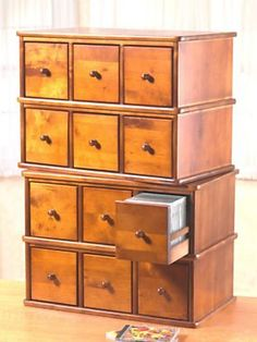 Six Drawer Cd Cabinet Small E Storage Solutions Dvd Cabinets