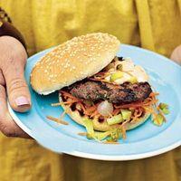 Recepten en zo: Hamburger met pittige mayonaise