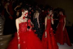 Fall 2015 Paris Couture Week Backstage Photos - Armani Privé