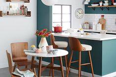Solución 336: soluciones para decorar tu comedor con cocina integrada  . Foto:blog.westelm.com