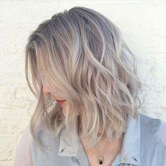 Le sand hair, alias blond très cendré, presque gris
