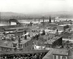 Cincinnati from Mt. Adams - 1909