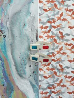 Left: Sasiri Siripakorn, M.S. Interior Design '16 \\\ Right: Akiko Uchida, M.S. Interior Design '16