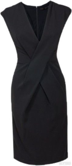 """Not really a dress wearer, but this is the perfect """"little black dress"""" If I ever have a great figure again..."""