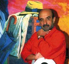 Eduardo Úrculo (1938-2003). Pintor y escultor español. Se lo considera uno de los mejores exponentes del Arte Pop en su país.