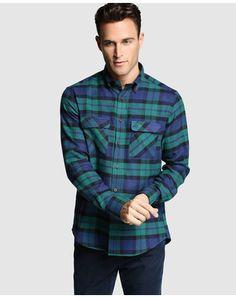 Camisa Regular de hombre Pertegaz