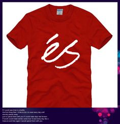 Find More T-Shirts Information about Free Shipping Street Wear Men Fashion Element ES Letter Print Red Color Male Loose Basketball Men Sports Summer ES T Shirt 006,High Quality shirt wear bow tie,China sport polo shirt Suppliers, Cheap shirts medium from Fashion International Trade Shop on Aliexpress.com