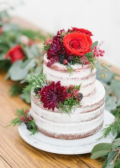 'Be My Valentine!' Wedding Ideas from the Heart Floral Design: Blushington Blooms // Desserts: Amuse Bake Shop