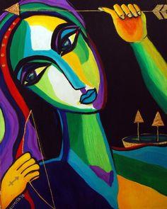 Sumita Acharya ~The Sagittarius Painting