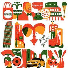 italy illustration - Google Search