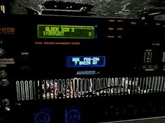 XTA electronics and BSS drive rack processors @Ben Sass audio