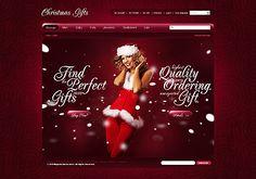 HoHoHo...Get Christmas Template Espresso!  #template #Christmas #SantaClausWebsite #Christmaswebsite