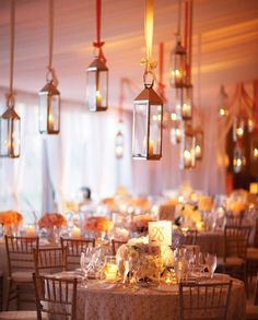 Lanterns could hang from trees,, inspiration for birthday party, Mobella Events, www.mobellaevents.com, event planner Orlando, event planner St. Petersburg