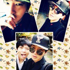 Yesung (and Jongjin)
