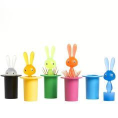Magic Bunny Yellow by A di Alessi aks the cutest toothpick holder ever.