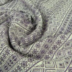 Didymos is a major player in the babywearing world. With beautiful, playful and elegant designs, there's a Didymos woven wrap or ring sling baby carrier for all! Ring Sling, Woven Wrap, Baby Wraps, Baby Wearing, Organic Cotton, Purple, Fabric, Newborns, Toddlers