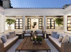 Best Modern House Design, Dream Home Design, Spanish Style Homes, Spanish House, Spanish Revival, Spanish Colonial, Villa Luxury, Marbella Villas, Mediterranean Home Decor