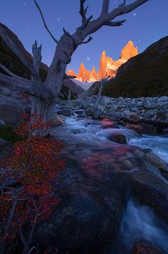 Pinnacle of Light - Patagonia, Argentina