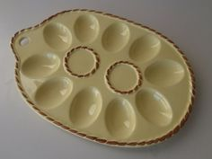 Egg Plate Vintage Ceramic Wall Hanging / by FeistyFarmersWife, $8.00