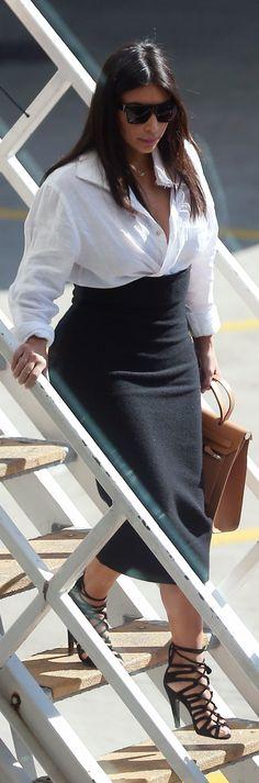 Kim Kardashian arriving at Sydney Airport in Sydney, Australia - 11/09/2014