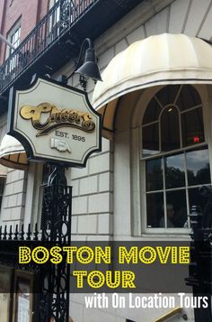Boston movie tours w