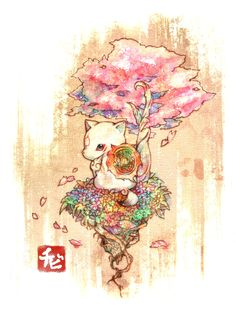 Okami Den - wish I could have you as a pet!