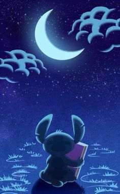 Andrea kassandradr67 on pinterest stitch watching the moon with a book voltagebd Images