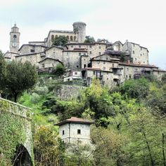 Bagnone, Italy is about 75 miles northwest of Florence.