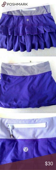 Lululemon Pace Skirt Skirt Running or Tennis Ruffle Skirt, used but in good condition lululemon athletica Other
