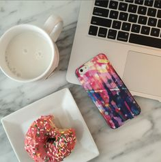 When your donut matches your phone case | Night Sky Case
