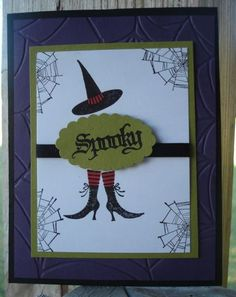 stampin up halloween card ideas | Stampin' Up! Card Idea- Wicked Cool Halloween - ink and inspirations