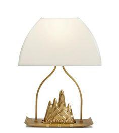 The modern new Chinese style table lamp【最灯饰】1月新品现代新中式山水禅意样板房台灯