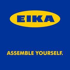 Assemble Yourself. (Ikea)