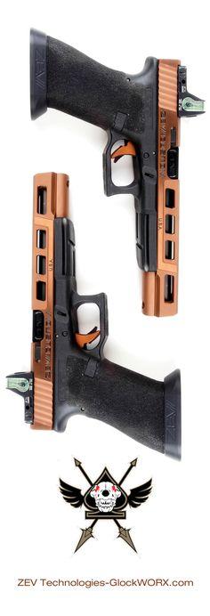 ZEV Technologies Glock 17L Bronze.  GlockWORX.com
