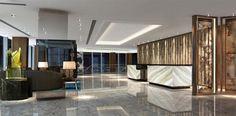 In London The Shard tower opened Shangri-La Hotel Hong Kong 34 floors chic Shangri La Hotel London, Hotel London City, The Shard London, Lobby Design, Five Star Hotel, Hotel Lobby, Store Design, Lounge, Luxury