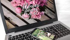 Wallpaper #5 Flower power