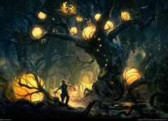 Heart of the Forest by Tuomas Korpi | 2D | CGSociety