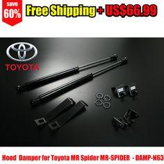 Bonnet Hood Strut Support Damper Kit for Toyota MR Spider MR-SPIDER – Autobahn88 – DAMP-N63-Free Shipping