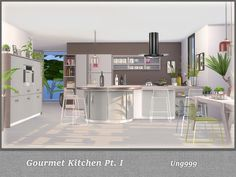 the sims resource gourmet kitchen pt 1 by ung999 sims 4 downloads neue
