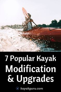7 Popular Kayak Modification & Upgrades Ideas - What can you do to modify or pimp out your kayak? Check out our guide to see what can be done to turn your stock kayak into a BEAST Fishing 101, Best Fishing, Kayak Fishing, Fishing Boats, Pike Fishing, Fishing Stuff, Kayak Camping, Canoe And Kayak, Camping Tips