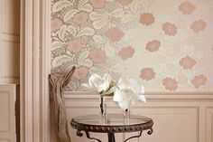 Anna French Wallpaper designs available direct in the UK. Beautiful Anna French Wallpaper designs online for best price & quick delivery Anna French Wallpaper, More Wallpaper, Bathroom Wallpaper, Framed Wallpaper, Beautiful Wallpaper, Pastel Wallpaper, Wallpaper Ideas, House Of Turquoise, I Believe In Pink
