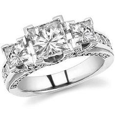 29 Best Three Stone Diamond Rings images  b4eb3b306