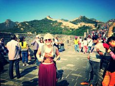 GREAT WALL OF CHINA... the most amazing experience with a breath taking view!