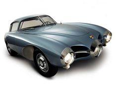 Abarth 1500 Bertone Biposto, an experimental coupe designed by Franco Scaglione in 1952